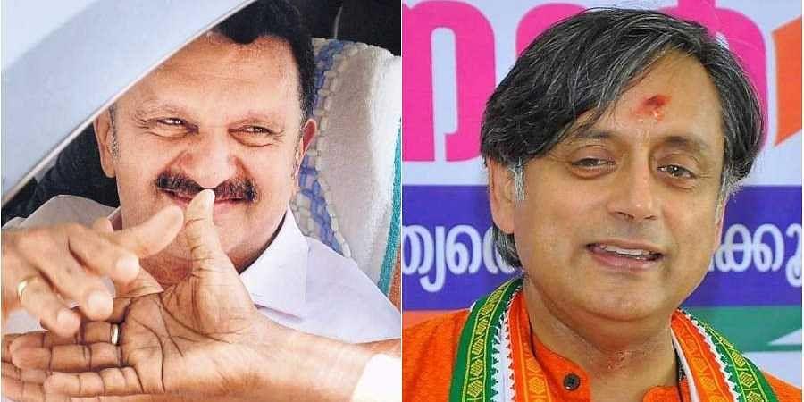 Shashi Tharoor, K. Karunakaran,