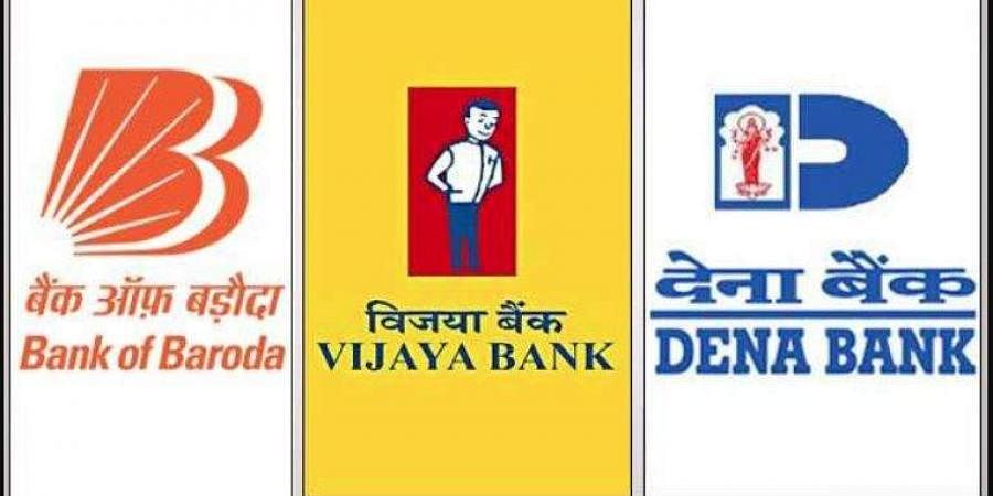 Bank of Baroda, Vijaya Bank, Dena Bank