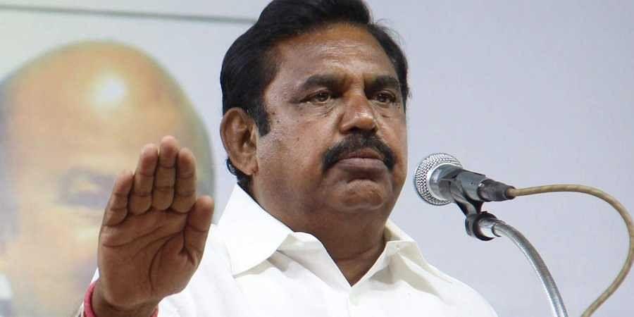 Tamil Nadu CM Edappadi Palaniswami