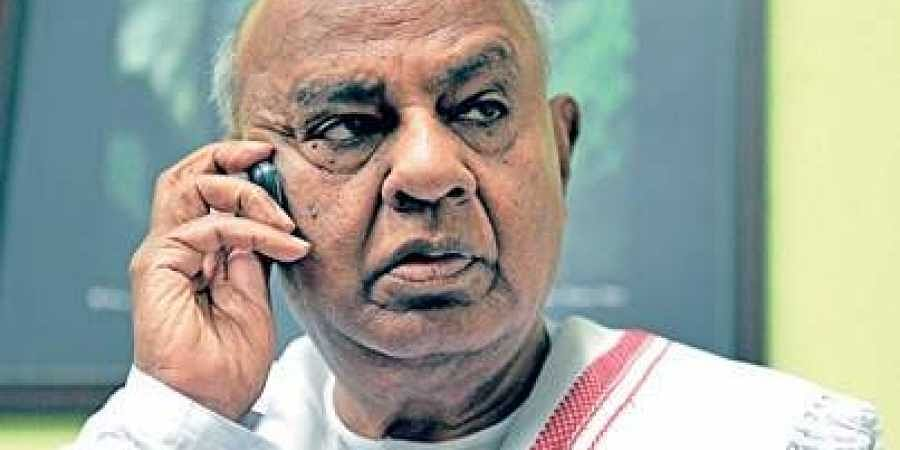 Only Congress wanted coalition: Deve Gowda