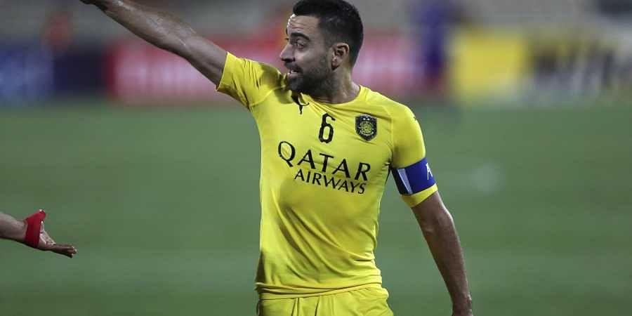 quite nice 9cbe0 004c6 Barcelona great Xavi named coach of Qatar's Al-Sadd- The New ...