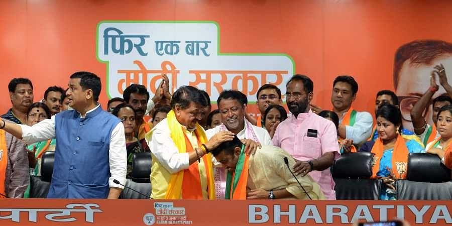 Mukul Roy, Subhranshu Roy, Tusharkanti Bhattacharya, Kailash Vijayvargiya