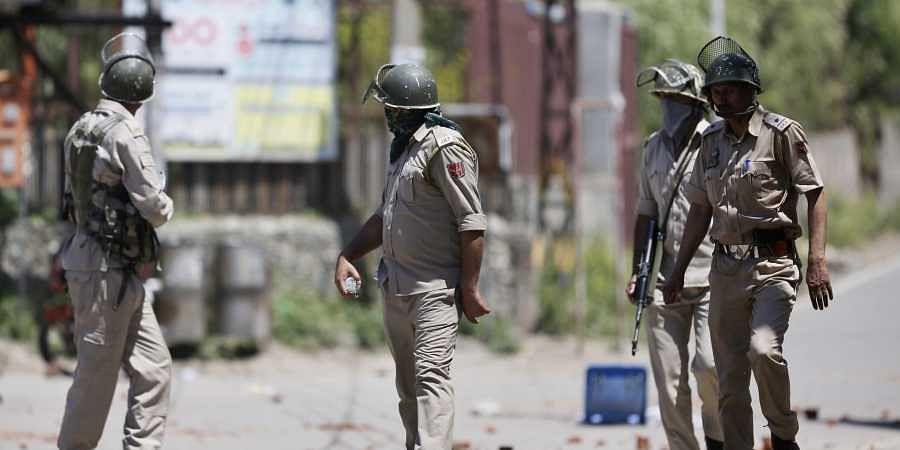 Indian policemen