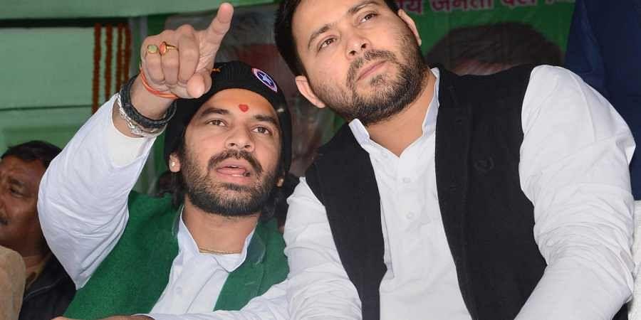 Tej Pratap Yadav, Tejashwi Yadav, Bihar politics, RJD