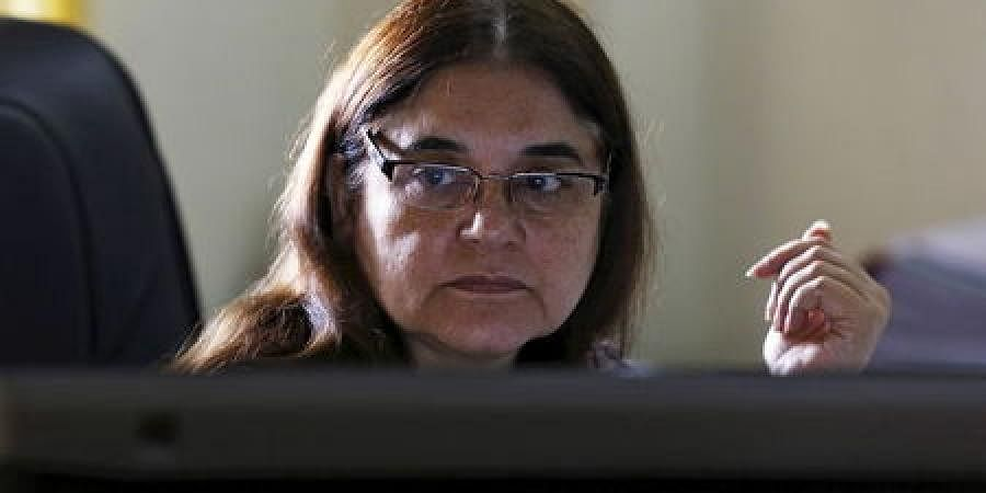 Maneka Gandhi: Union Minister Maneka Gandhi kicked up a storm while addressing a rally in UP's Sultanpur where she was seen asking Muslims to vote for her or else she won't work for their welfare. The EC took cognizance of the matter and asked the Sultanp