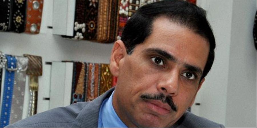 Businessman and son-in-law of UPA chairperson Sonia Gandhi, Robert Vadra (File photo)