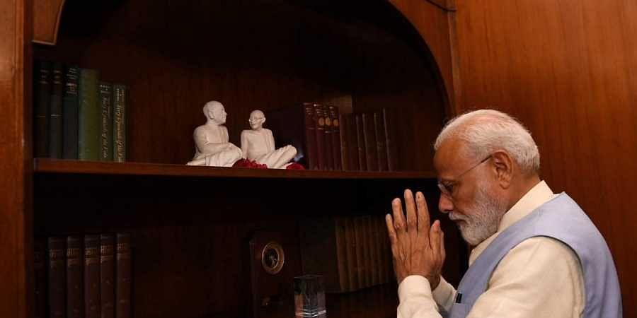 Narendra Modi, PMO Office