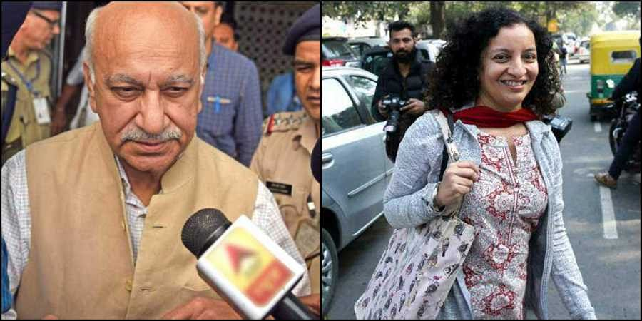Journalist Priya Ramani levelled allegations of sexual misconduct against Union minister MJ Akbar. (Photos | EPS)