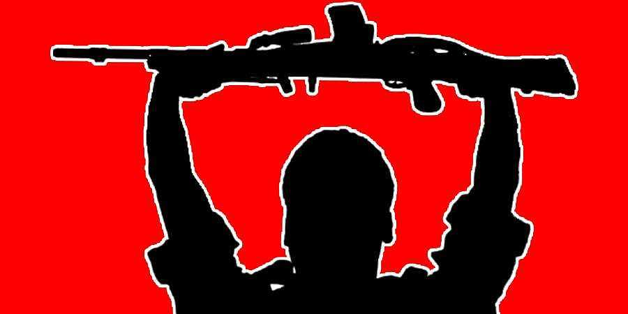 maoist, maoist surrender,gun