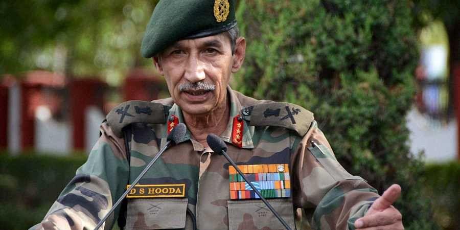 Lt Gen (Retd) DS Hooda