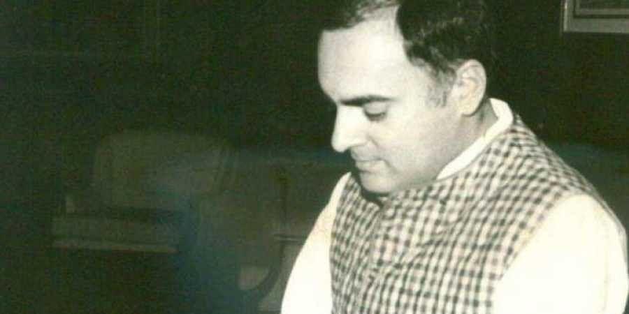 Former Indian PM Rajiv Gandhi. (File photo | Express)