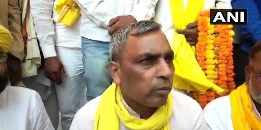SBSP chief Om Prakash Rajbhar