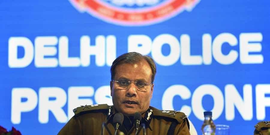 Delhi Police Commissioner Amulya Patnaik