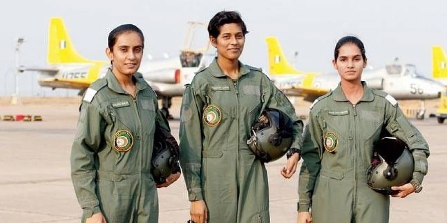 Mohana Singh becomes first woman fighter pilot to fly Hawk advanced jet-  The New Indian Express