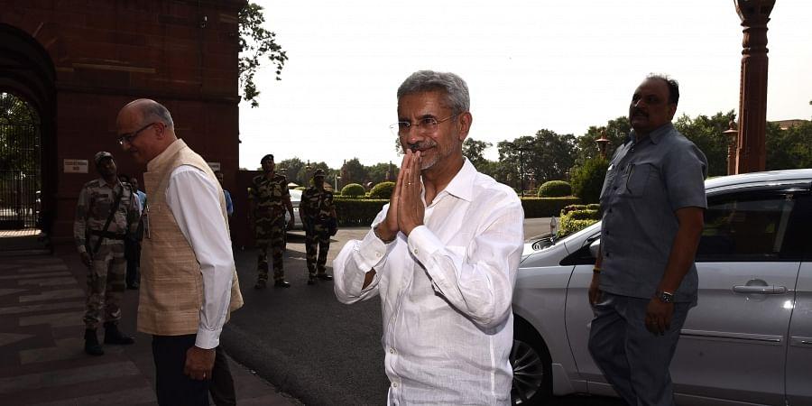 Subrahmanyam Jaishankar, External Affairs minister