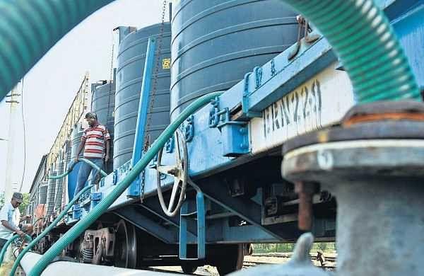Water crisis: Southern Railway brings water in trains
