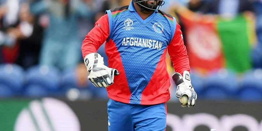 Afghanistan's Mohammad Shahzad. (Photo | Twitter)