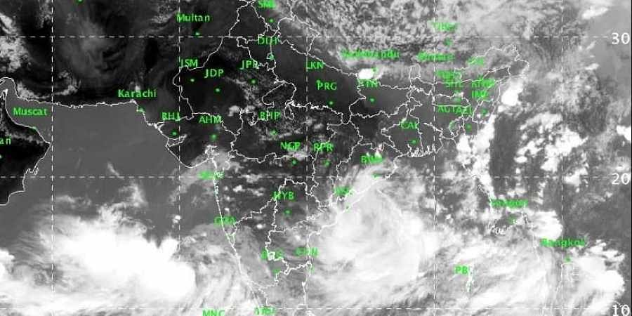 Severe rainfall warning as cyclone develops in Arabian Sea
