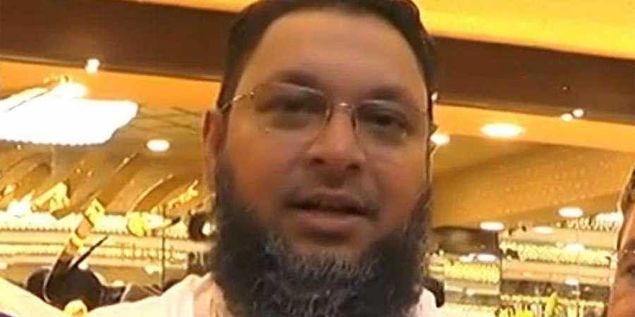 IMA Jewels owner and managing director Mohammed Mansoor Khan (Photo | Video screengrab)