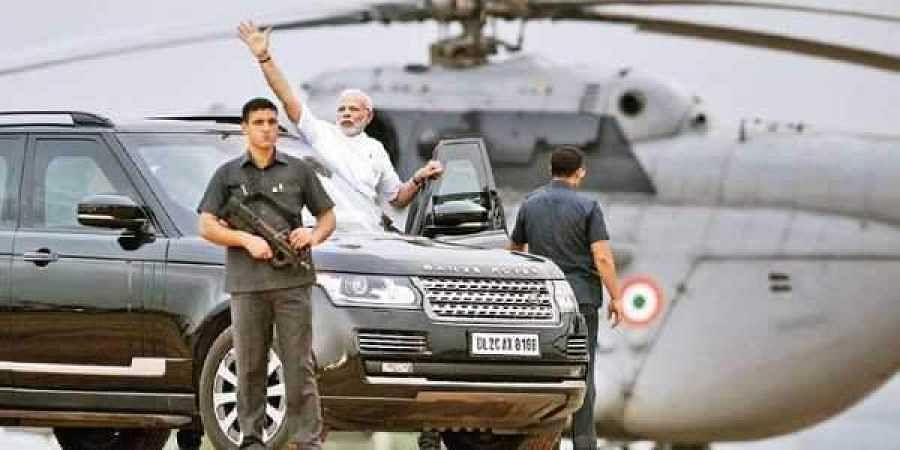 Modi Helicopter