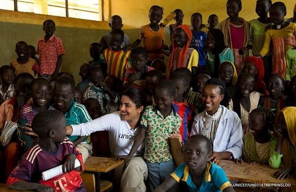 Priyanka Chopra to receive UNICEF USA humanitarian award