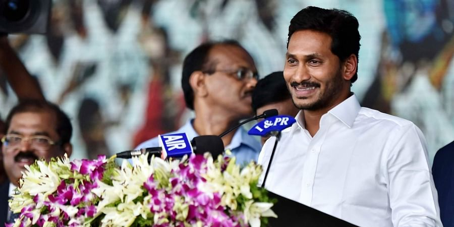 YS Jagan Mohan Reddy, Andhra Chief Minister