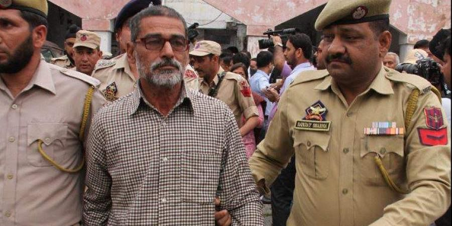 Sanni Ram, convicted in the rape and murder of a 8-year-old-girl in Kathua. (Photo   File, PTI)