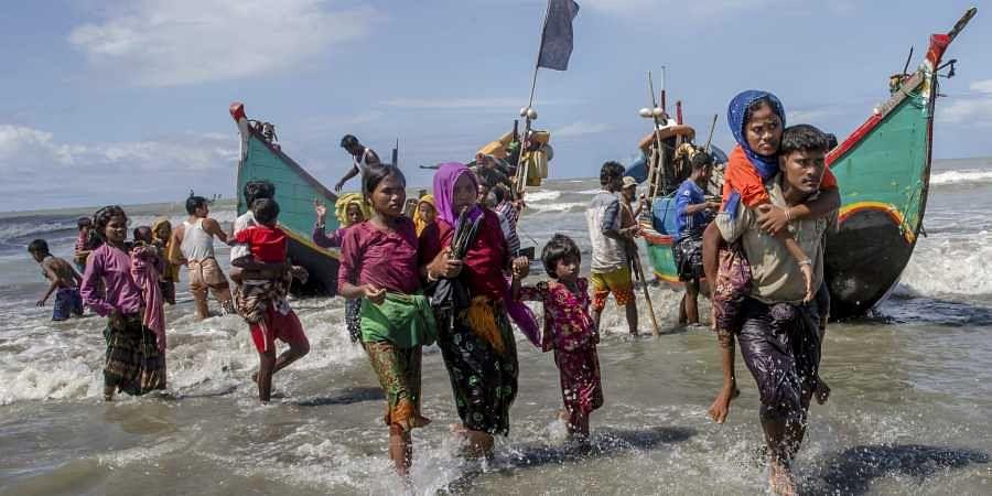 A representational image of Rohingyas