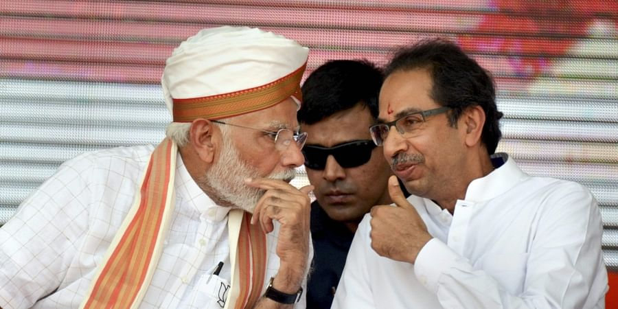 Uddhav Thackeray, PM Modi, Maharashtra election rally