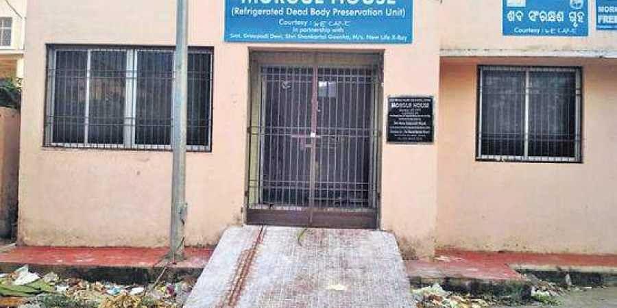 SCB hospital morgue, Cuttack