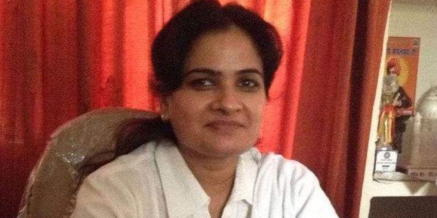 The first woman president of the Uttar Pradesh Bar Council, Darvesh Yadav. (Photo | Twitter)