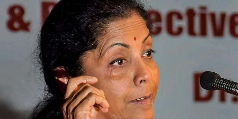 Union Defence Minister Nirmala Sitharaman