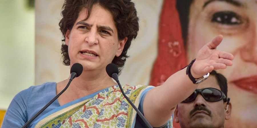 Congress General Secretary Priyanka Gandhi Vadra (Photo | PTI)