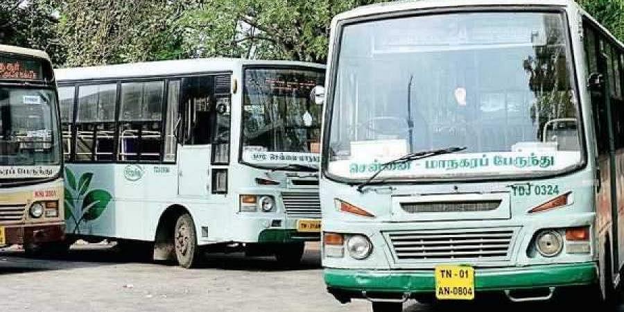Chennai MTC buses