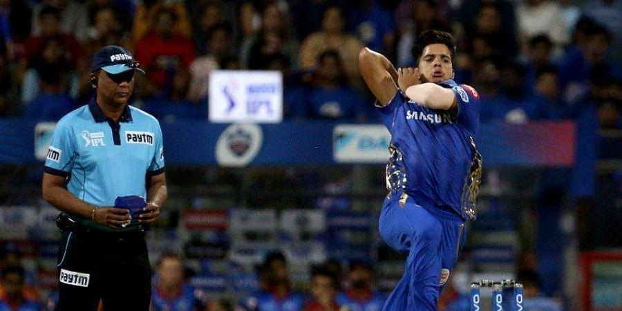 young fast bowler Rasikh Salam