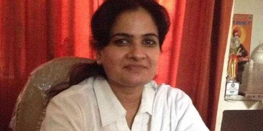 The first woman president of the Uttar Pradesh Bar Council, Darvesh Yadav. (Photo   Twitter)