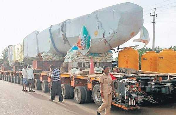 Narrow roads delay Veeragallu's journey