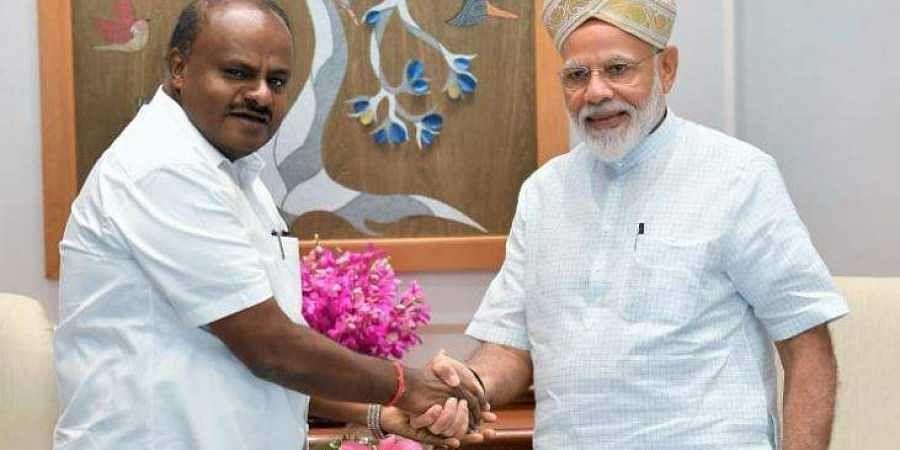 Karnataka CM HD Kumaraswamy congratulates Prime Minister Modi on being re-elected