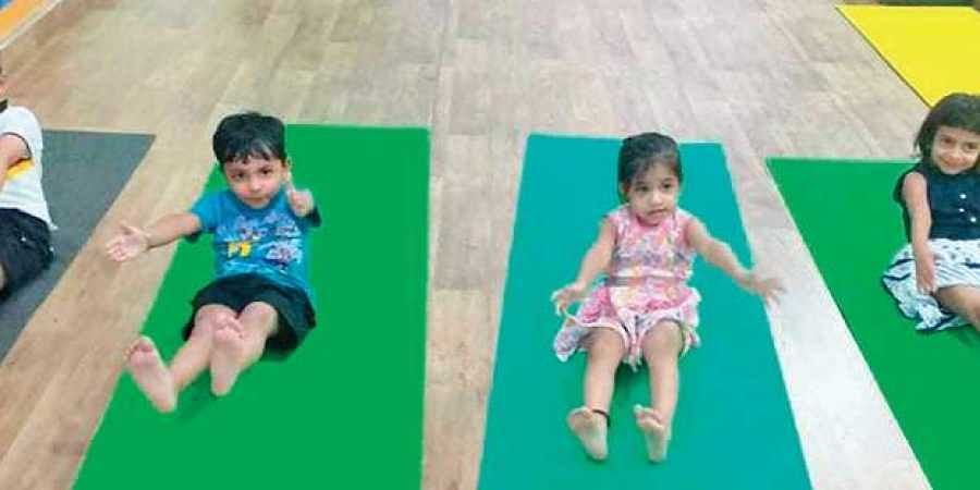 Parents See Yoga Making Kids Healthier Smarter The New Indian Express