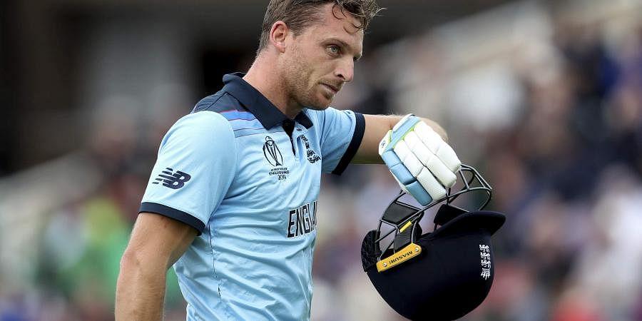 England's Jos Buttler. (Photo | AP)