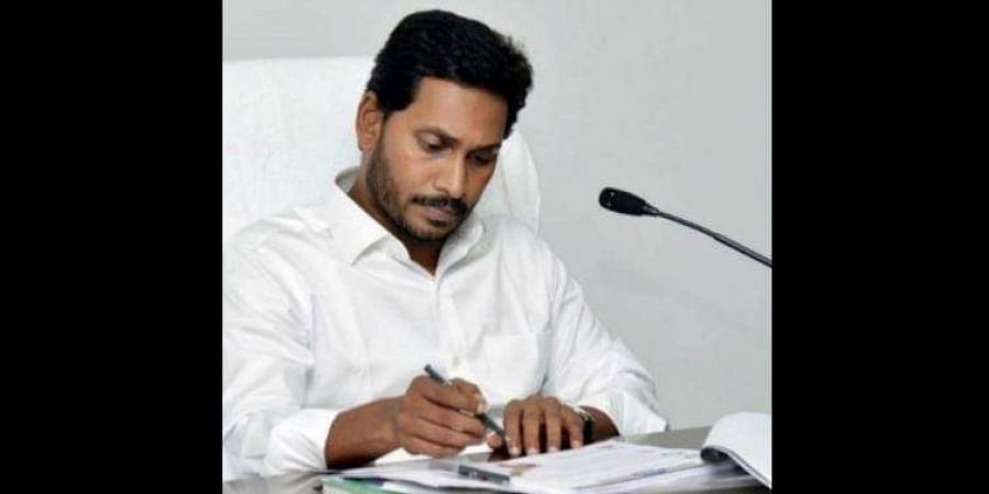 Andhra CM Jagan Mohan Reddy