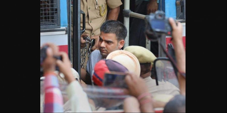 Vishal Jangotra, one of the accused in the Kathua rape and murder case of an eight-year-old girl, was let off on benefit of doubt on 10 June 2019. (Photo | File, PTI)