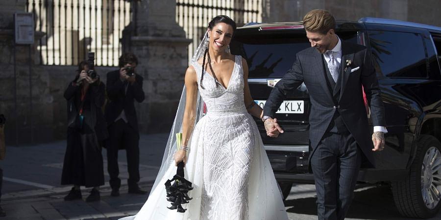 Image result for sergio ramos wedding