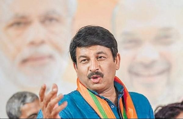 MP and Delhi BJP chief Manoj Tiwari