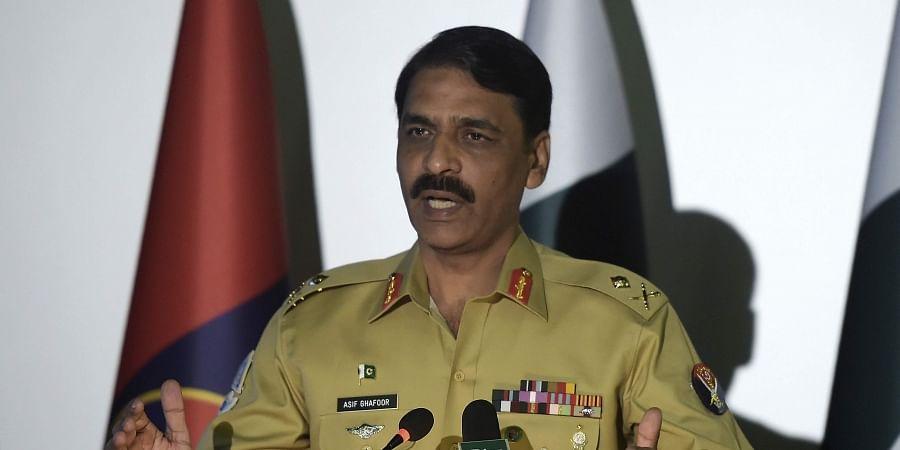 Pakistan's army spokesman Maj. Gen. Asif Ghafoor . (File photo |AP)