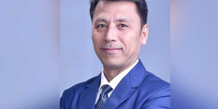 Manipur Education Minister Th Radheshyam (Photo | Twitter)