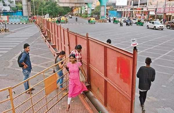 Traffic diversion for Metro work leaves many puzzled