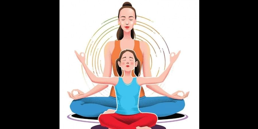 Sharmila Taneja recommends half an hour of Viniyoga practice for children of an average age of 12 years with Urdhva Dhanur Asana as the goal posture.