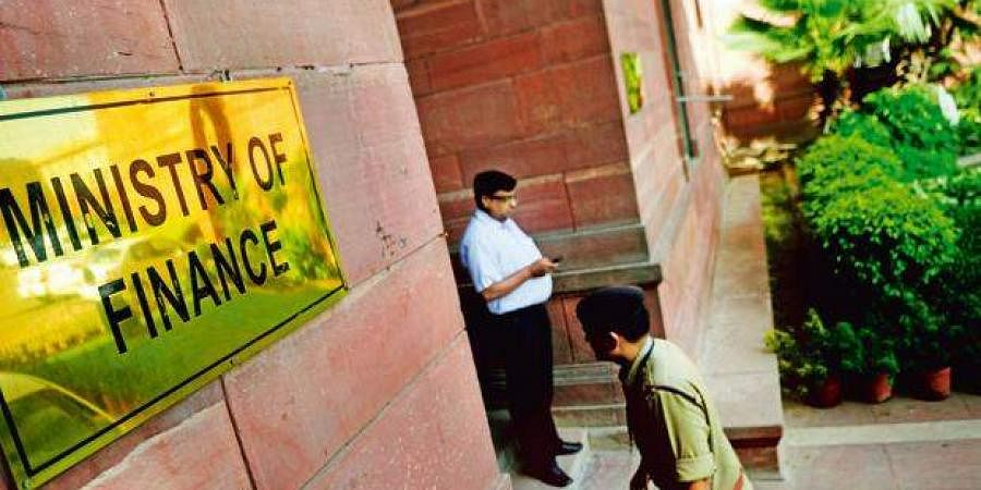 The Ministry of Finance office in New Delhi (Photo   PTI)