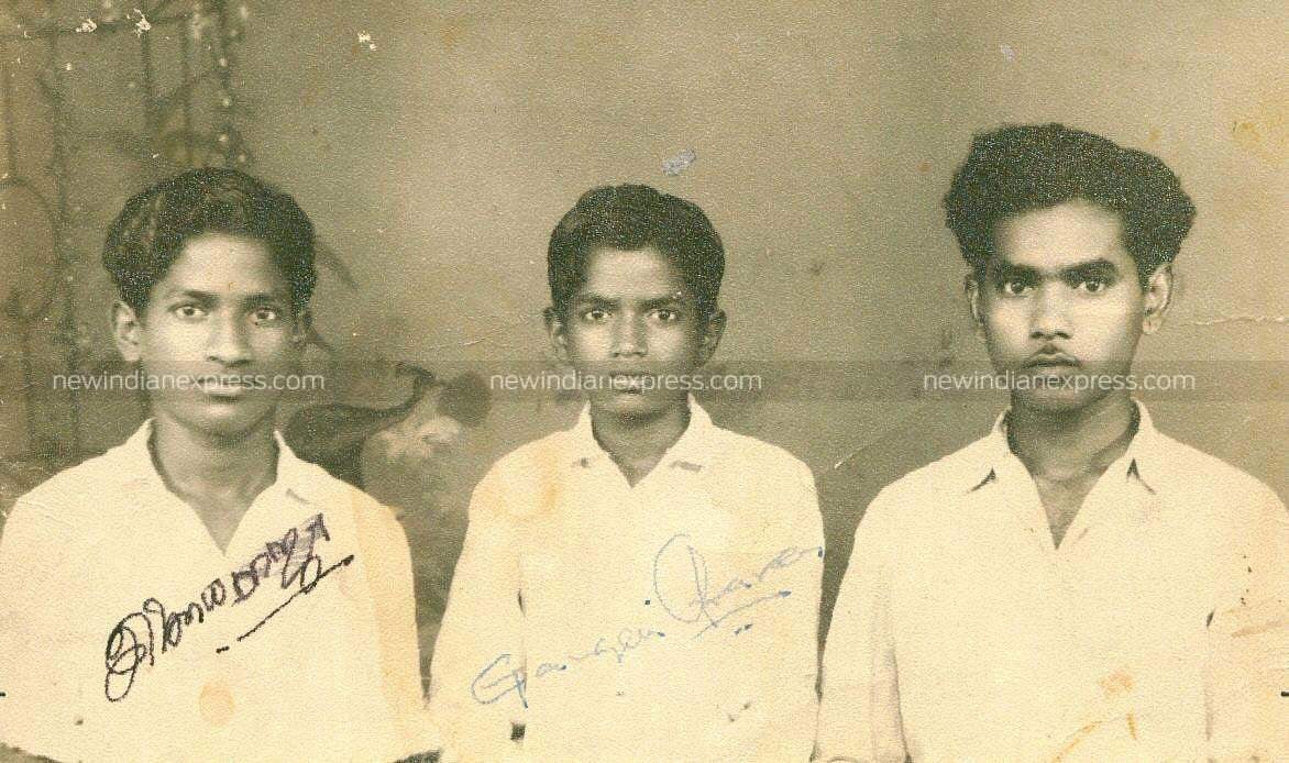 (From left to right) Music director Ilayaraaja, his brothers Gangai Amaran and Pavalar Varadarajan.